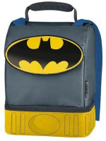 Thermos Batman Cape High Quality Dual Lunch Kit: Kitchen & Dining