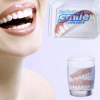 Dental Veneers. Instant White Smile. Comfort Flex Silicone.