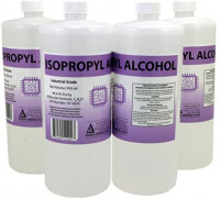 4 x 950ml Bottles of 99.9+% Pure Isopropyl Alcohol Industrial Grade IPA Concentrated Rubbing Alcohol 1 Gallon Total: Health & Personal Care