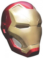 Rubie's mens Captain America: Civil War Iron Man 2-piece Costume Mask, Multi, One Size US: Clothing