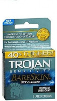 Bareskin Lubricated Condoms, 3 Count-(Pack of 1): Health & Personal Care