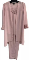 Le Bos Women's 3 Piece Pant Suit at Women's Clothing store