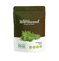Certified Organic Wormwood Dried Cut Herb 4 oz., AJENJO, Artemisia Absinthium, Resealable Bag, Wormwood Herbal Tea, Product From Croatia, Packaged in the U.S.A. (4 oz.) : Grocery & Gourmet Food