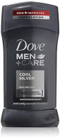 Dove Men + Care Antiperspirant, Cool Silver, 2.7 Ounces each, Pack of 3 : Beauty