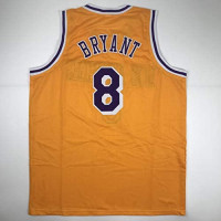 Unsigned Kobe Bryant #8 Los Angeles LA Yellow Custom Stitched Basketball Jersey Size Men's XL New No Brands/Logos at 's Sports Collectibles Store