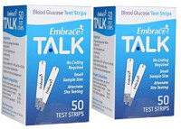 Omnis Health Embrace Blood Glucose Test Strips, 100ct: Health & Personal Care