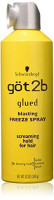 got2b Glued Blasting Freeze Spray 12 oz (Pack of 3) : Hair Sprays : Beauty