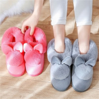 Home Cotton Slippers. Female Cute Rabbits. Warm & Anti Slip.