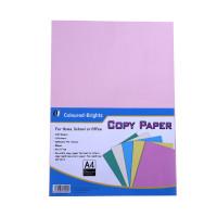 A4 Copy Printing Paper. 100 Sheets. 5 Colors.