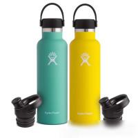 Hydro Flask w/Loop Cap Mouth 21 oz. Standard Water Bottle, 621 ml