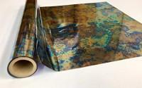 "Metallic Foil - Odell - Decorative Trasfer Roll 12"" x 15'"