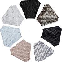 Selinora Adults Face Mɑѕḱ Face Bandana_Covering Outdoor Masquerade Rhinestone Crystals Face Protection Fabric: Clothing