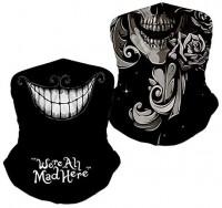 2 Pack Skull Face Mask Half Sun Dust Protection, Vivid 3D Tube Mask Seamless Durable Face Mask Bandana Skeleton Face (Skull - (2pcs)) at Men's Clothing store