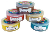 Mary's Natural Softdough Stack- Candy Store Scents, Set of 5: Toys & Games
