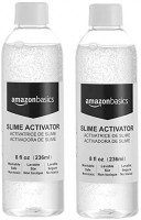 Glue Slime Activator Solution, 8-oz- Great for Making Slime, 2-Pack : Office Products