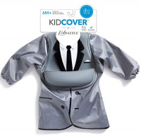 KidDazzle One-Piece Tiny Tux KidCover- Cute Silicone Baby Boy Bib - Adjustable Size - Waterproof and Stain Resistant to Baby Food - 6 Months and Older : Baby