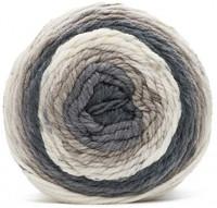 Caron Chunky Cakes Self Striping Yarn (Rice Pudding): Arts, Crafts & Sewing