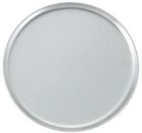 "Winco APZC-8 Silver 8"" Round Solid Pizza Pan-APZC-8: Kitchen & Dining"