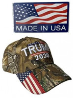 Donald Trump Hat 2020 Keep America Great Camo MAGA Hat Adjustable Baseball Hat Made in USA at Men's Clothing store