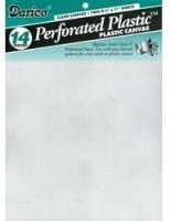 "Perforated Plastic Canvas 8.5""X11"" 2/Pkg-Clear: Arts, Crafts & Sewing"
