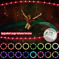 【Upgraded Large Volume Version】 LED Trampoline Lights,Remote Control Trampoline Rim LED Light, C Battery Box, 16 Color Change, Waterproof, Bright to Play at Night Outdoors, Good Gift for Kids : Sports & Outdoors