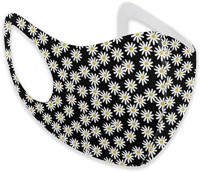 Custom Mouth Mask Daisies Flowers Anti Face Mask Washable Earloop Mask: Clothing