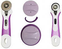 Quilted Bear Blade Sharpener with 45mm Rotary Cutter & 28mm Rotary Cutter