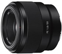 Sony - FE 50mm F1.8 Standard Lens (SEL50F18F), Black : Camera & Photo