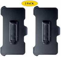 AlphaCell Holster Belt Clip Replacement Compatible with OtterBox Defender Series Case for Apple iPhone XR (ONLY) - 2 Pack