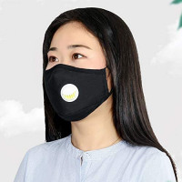 Safety Dust Mask, Breathing Valve Respirator with PM2.5 Filters,Easy Breathe Reusable Washable Face Mask, Protection from Dust, Pollen, Pet Dander, Other Airborne Irritants ((With breathing valve))