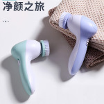 Facial Cleansing Brush by Olay Regenerist, Face Exfoliator with 2 Brush Heads: Beauty