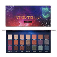 Prism Makeup 21 Colors Pigmented Eyeshadow Palette 6 Matte + 15 Shimmer Blendable Long Lasting Eye Shadow Palette Natural Colors Neutral Pigment Shadow Shimmers Make Up Cosmetics : Beauty