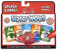 Melissa & Doug On the Go Water Wow! Reusable Water-Reveal Activity Cards - Alphabet and Animals: Melissa & Doug, Melissa & Doug: Toys & Games