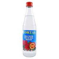 Cortas Rose Water, 10-Ounce Bottles (Pack of 4) : Natural Flavoring Extracts : Grocery & Gourmet Food