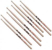 Vic Firth Buy 3 Pair 5A Sticks, Get 1 Pair Free 5A: Musical Instruments