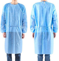 Panasi 10pcs/set Non-woven Security Protection Suit Disposable Isolation Gown