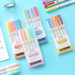 Zebra MILD LINER, Double Sided Highlighter, 5 Set (WKT7-5C) : Highlighters : Office Products