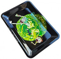 Metal Rolling Tray Durable Art Scroll Tray 3: Kitchen & Dining