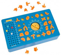 """TimeShock Game-Retro Timed Fun Board Game, Game Unit with Timer and Pop-up Tray - Game Measures 9"""" x 5"""" x 2"""": Toys & Games"""