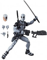 """Marvel E1974 Hasbro Legends Series 12"""" Deadpool Action Figure From Uncanny X-Force Comics with Blaster/Weapon Accessories & 30 Points Of Articulation ( Exclusive): Toys & Games"""