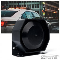 Xprite Compact 200 Watt High Performance Extra Slim Siren Speaker (Capable with Any 100-200 Watt Siren): Automotive
