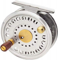 TICA S107R/S Fly Reel, Silver, S107R/S 7 test/210 yd : Sports & Outdoors