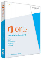 Office Home & Business 2013 Key Card 1PC/1User: Software