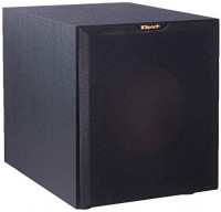 "Klipsch Reference R-10SW 10"" 300w Powered Subwoofer (Black): Home Audio & Theater"